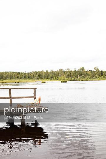 Entspannen am See - p294m2031918 von Paolo