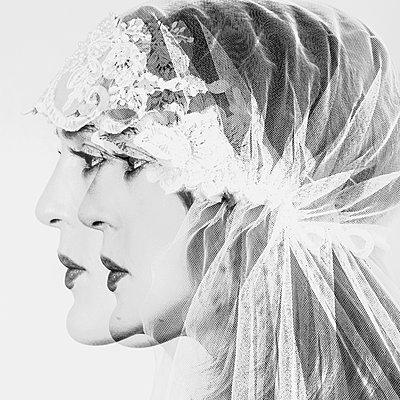 The veil  - p1543m2125187 by Sophia Snadli