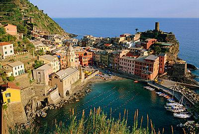 Vernazza, Cinque Terre, Liguria, Italy, Europe - p8711109 by Bruno Morandi