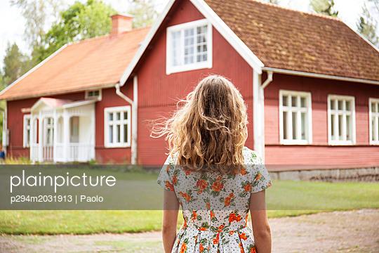 Schwedenhaus - p294m2031913 von Paolo