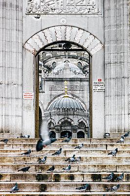 Türkei, Istanbul, Eingang zur Moschee - p1085m2259786 von David Carreno Hansen