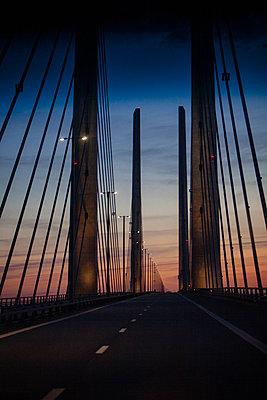 Denmark, Oeresund bridge - p1579m2193457 by Alexander Ziegler