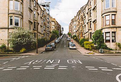 Wohngebiet in Glasgow - p432m2090016 von mia takahara