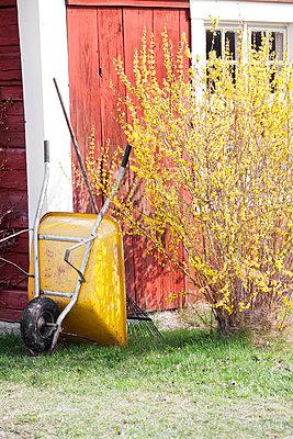 Gardening tools - p956m658552 by Anna Quinn