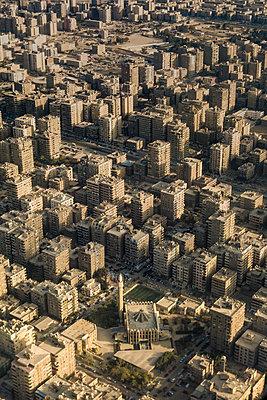 Luftbild von Kairo - p1325m1446401 von Antje Solveig
