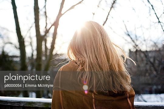 Zerzauste Haare - p8000054 von Emma McIntyre