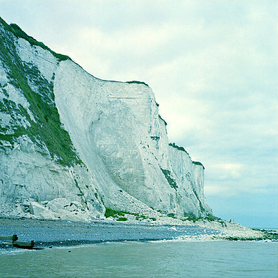 White Cliffs of Dover - p1063m2071783 by Ekaterina Vasilyeva