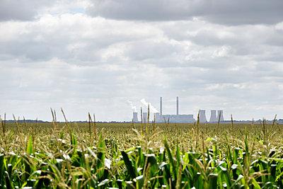 Kohlekraftwerk - p967m2045628 von Wessel Wessels