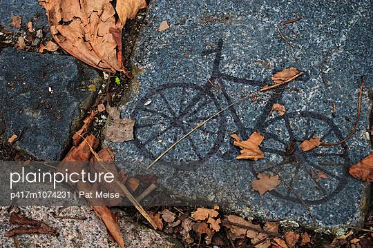 Fahrrad - p417m1074231 von Pat Meise