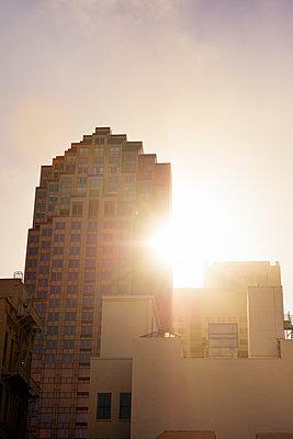 Morgensonne hinter 333 Bush Street - p1196m1182359 von Biederbick & Rumpf