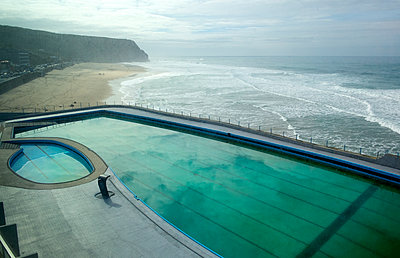 Swimming pool at the seaside - p1190m1548232 by Sarah Eick