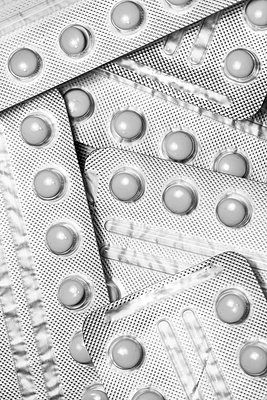 Contraceptive pills - p1280m2089686 by Dave Wall