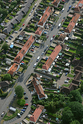 British suburban housing estate - p1048m1135514 by Mark Wagner