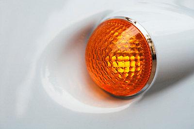 Lampe eines Rollers - p3300069 von Harald Braun