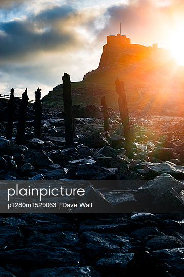 Lindisfarne Castle - p1280m1529063 by Dave Wall