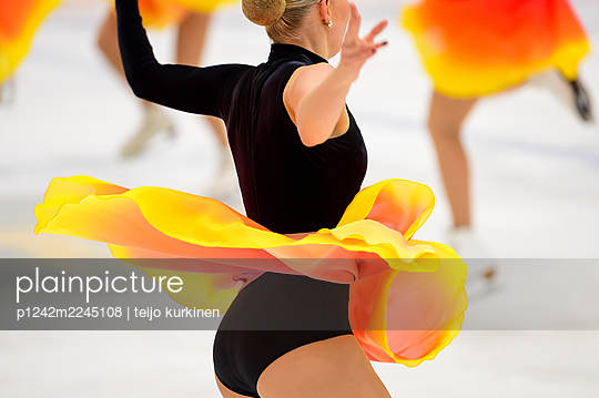 Finland, Figure Skating - p1242m2245108 by teijo kurkinen