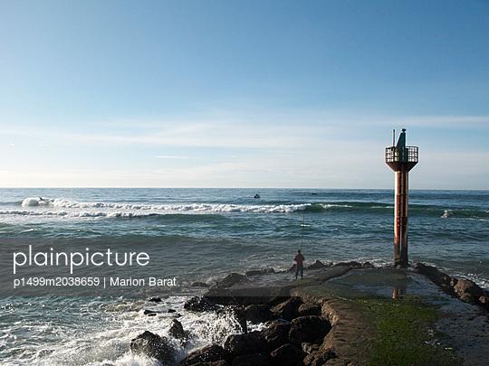 Leuchtturm von Capbreton  - p1499m2038659 von Marion Barat