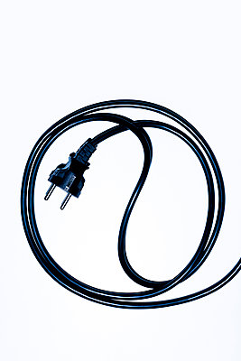 Electric cable - p1149m2192772 by Yvonne Röder