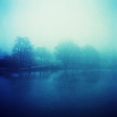 Aasee im Nebel - p9790332 von Till photography