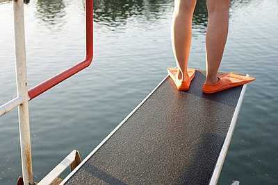Diving board - p4640682 by Elektrons 08