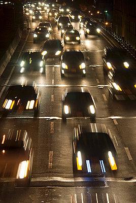 Highway at Night, New York City - p5690014 by Jeff Spielman