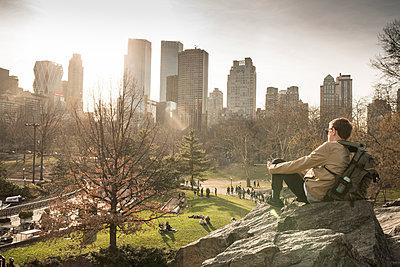 Central Park - p948m1113134 von Sibylle Pietrek