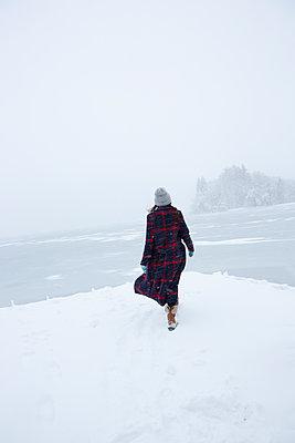 Im tiefsten Winter - p454m2071817 von Lubitz + Dorner