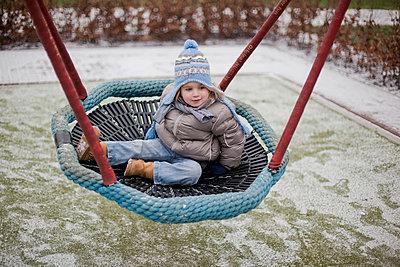 Swinging - p896m835367 by Amaury Miller