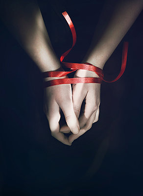 Red Ribbon - p984m1185213 by Mark Owen