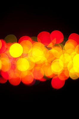 Yellow and red lights - p1695m2290940 by Dusica Paripovic