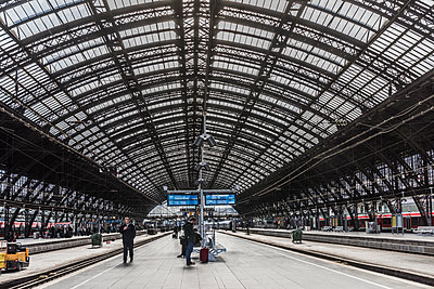 Central Station Cologne - p401m1590160 by Frank Baquet