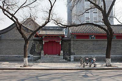 Gebäude in Peking - p7980220 von Florian Löbermann