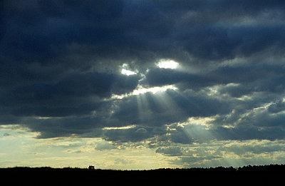 Gesicht in den Wolken - p0890020 von Gerd Olma