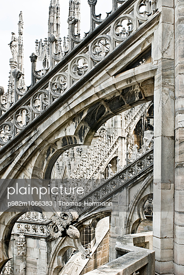 Cathedral of Milano - p982m1066383 by Thomas Herrmann