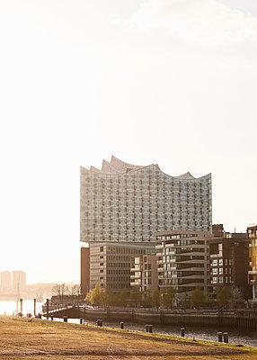 Elbphilharmonie und Hafencity - p1124m1149981 von Willing-Holtz