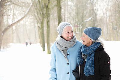 An einem Wintertag - p981m1590416 von Franke + Mans