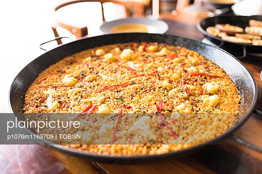 Paella vegetarisch - p1076m1169709 von TOBSN