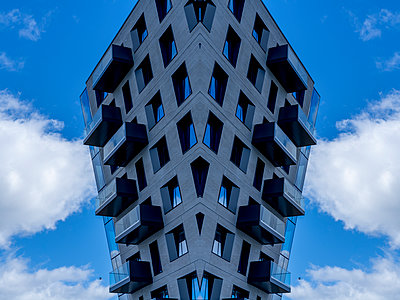 Abstract architectural kaleidoscope Boston - p401m2222134 by Frank Baquet