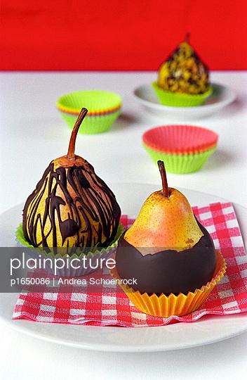 Schokoladenbirne - p1650086 von Andrea Schoenrock