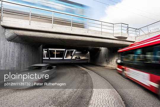 Tunnel traffic - p312m1139732 by Peter Rutherhagen