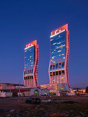 Turkey, Folkart Towers in Izmir - p390m2254450 by Frank Herfort