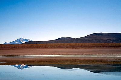Spiegelung in einem See - p619m658602 von Samira Schulz