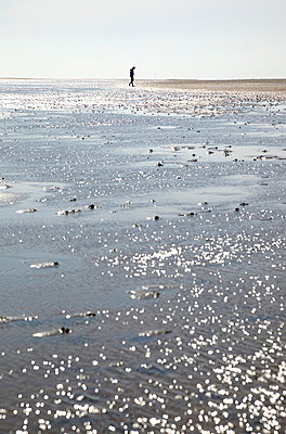 Allein an der Küste - p3820368 von Anna Matzen