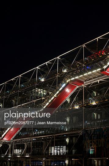 Centre Pompidou, Beaubourg, Paris - p1028m2087277 by Jean Marmeisse