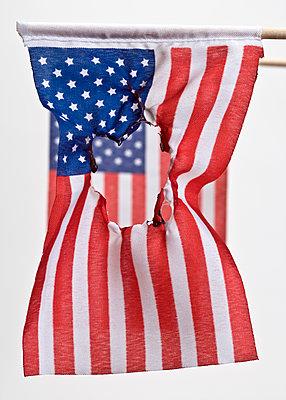 Amerikanische Flagge - p265m1183326 von Oote Boe