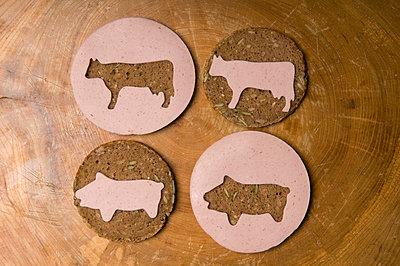 Wurst auf Brot - p4510785 von Anja Weber-Decker
