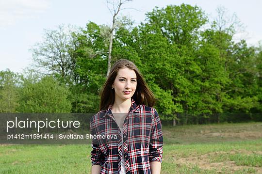 Portrait of a young girl - p1412m1591414 by Svetlana Shemeleva