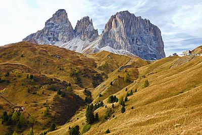 Langkofel in den Dolomiten - p1399m2148441 von Daniel Hischer