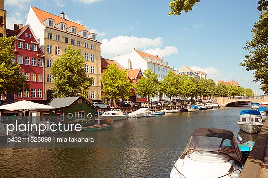 Kanal in Christianshavn - p432m1525098 von mia takahara