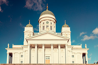 Helsinki Cathedral in sunny day in fall - p1332m1572957 by Tamboly
